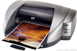 Принцип работы струйных принтеров
