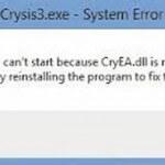 Cryea dll скачать бесплатно для Crysis 3