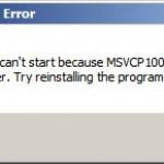 Скачать msvcr100d.dll для Windows XP