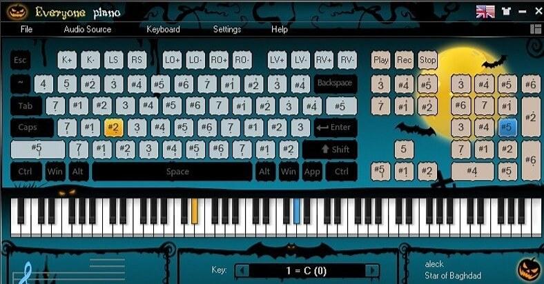 Пианино на клавиатуре скачать бесплатно