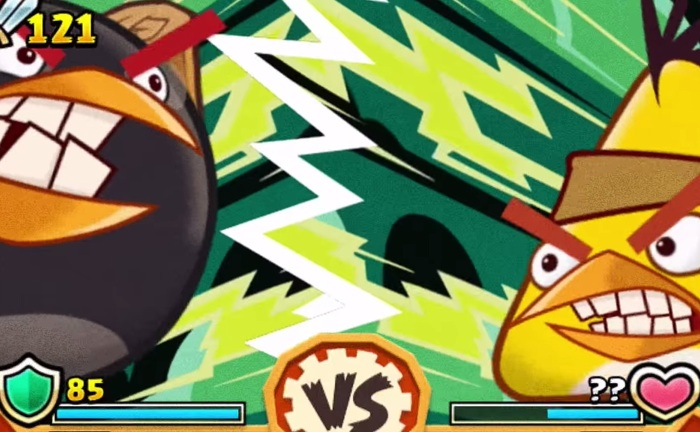 Битвы в Angry Birds Fight