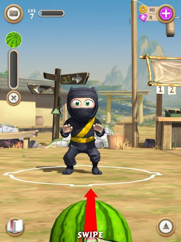 Clumsy Ninja играть на компьютере