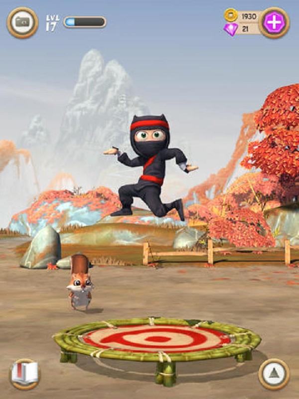 Clumsy ninja на компьютер скачать
