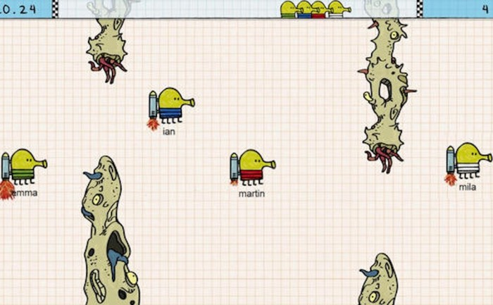 Геймплей Doodle Jump