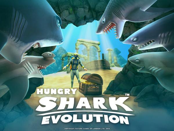 Hungry Shark Evolution скачать для компьютера