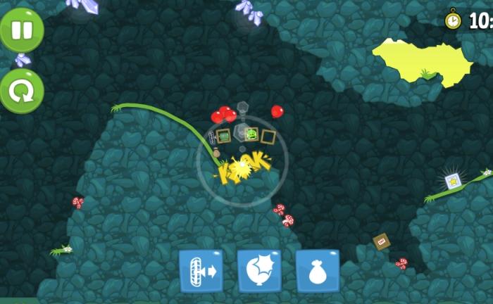 Игровой процесс Bad Piggies