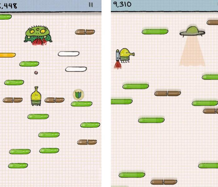 Игровой процесс Doodle Jump