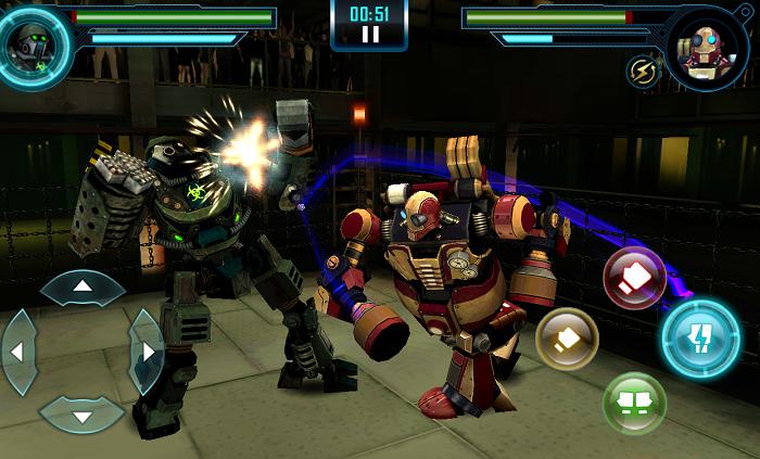 Захватывающие бои в Real Steel World Robot Boxing