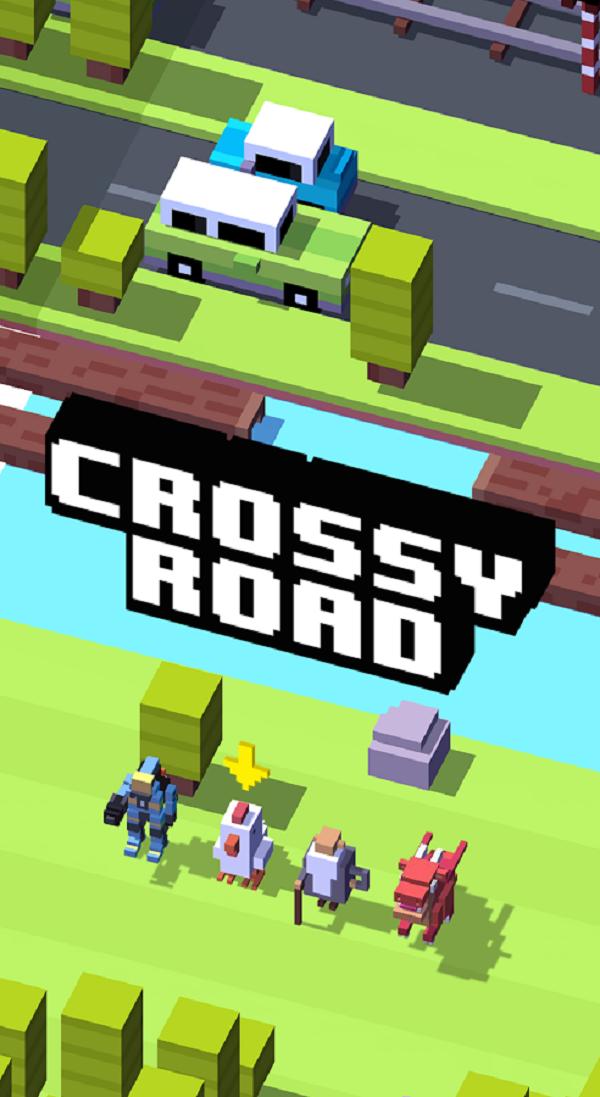 Crossy Road скачать на компьютер