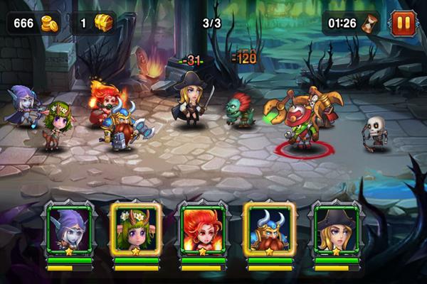 Heroes Charge скачать апк