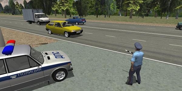 Traffic Cop Simulator 3D скачать без регистрации