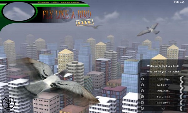 Fly like a bird 3 скачать на компьютер