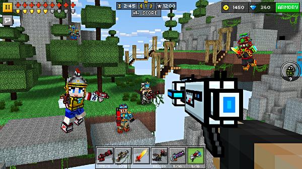 Pixel Gun 3D скачать без смс