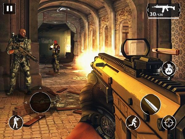 Modern Combat 5 скачать апк