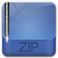 Заархивировать файл в zip