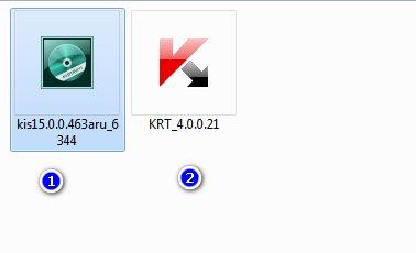 Далее, распаковываем архив в нем всего два файла: