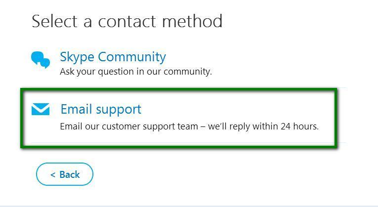 Поддержка по Email