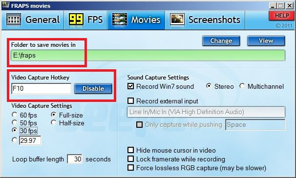 """Video Capture Hotkey"
