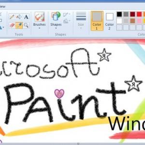 Работа в редакторе Paint