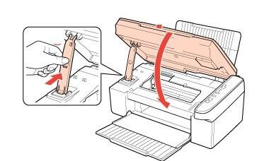 Остается вернуть картридж на свое рабочее место и закрыть крышку принтера