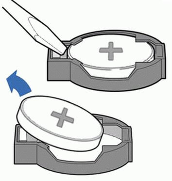 В случае с батарейкой все предельно понятно - придется ее заменить