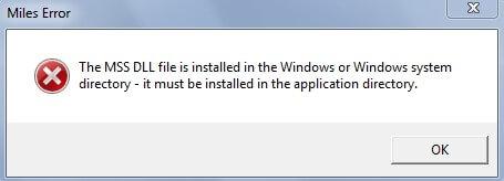 mss32.dll скачать бесплатно для Windows 7