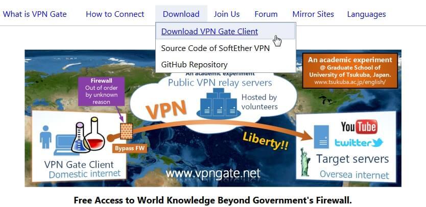 Загрузка VPN