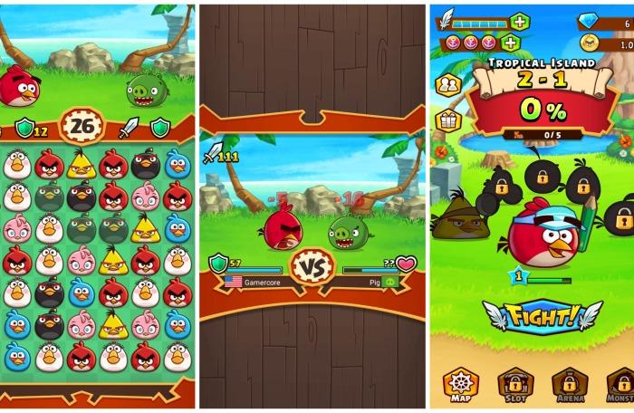 Геймплей Angry Birds Fight