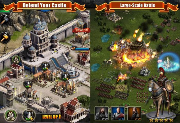 Геймплей Clash of Kings