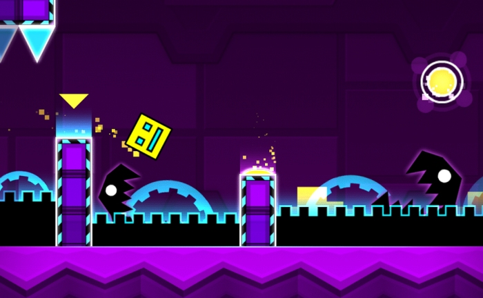 Геймплей Geometry Dash Meltdown