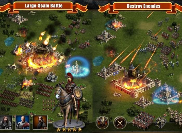 Графика в Clash of Kings