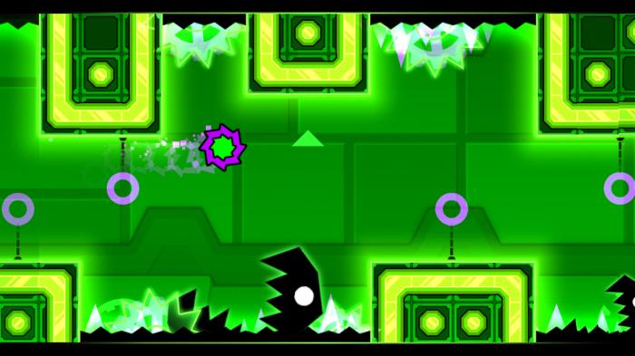 Игровой процесс Geometry Dash Meltdown