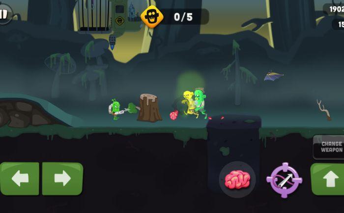 Игровой процесс Zombie Catchers