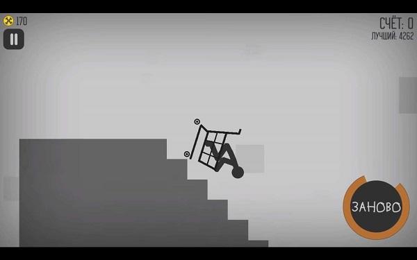 Stickman Dismount скачать