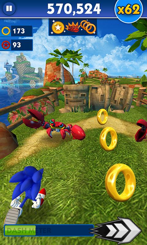 Sonic dash скачать без регистрации