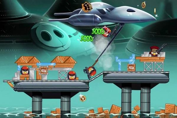 Angry Birds Star Wars 2 скачать apk
