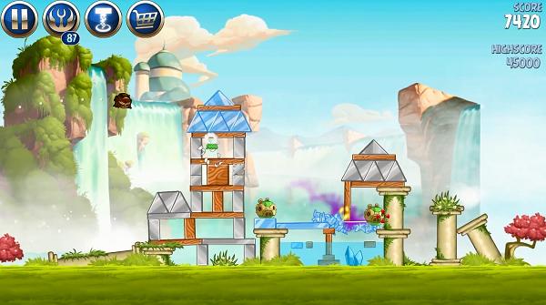 Angry Birds Star Wars 2 скачать русскую версию