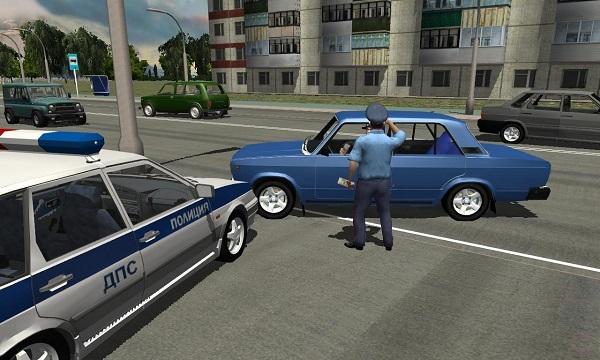 Traffic Cop Simulator 3D скачать без смс