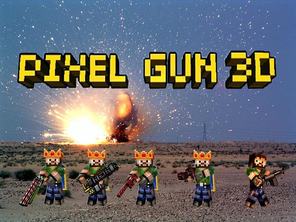 Pixel Gun 3D скачать на компьютер